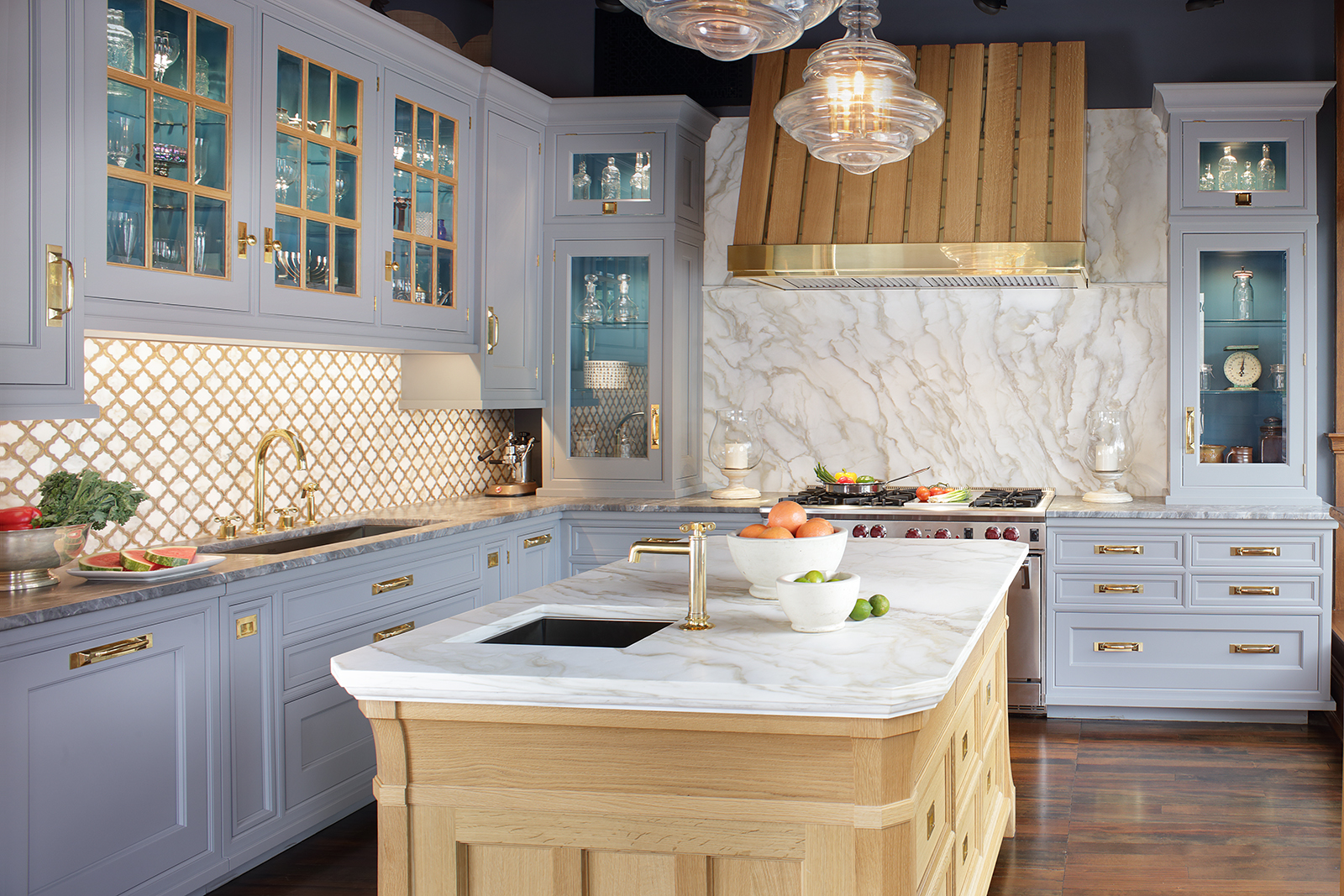 New Traditions Style Kitchen Remodel with Rustic Features